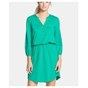 Lilly Pulitzer Beckett Green shirt dress